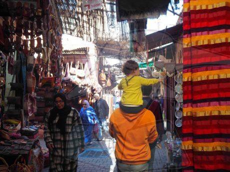 Consejos para viajar con niños a Marrakech