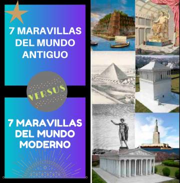 7 maravillas del mundo antiguo y moderno