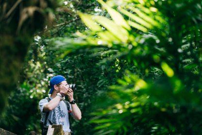 Hombre haciendo foto en Nicaragua