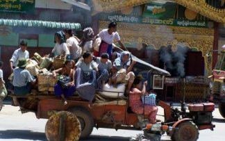 Autobus en Camboya