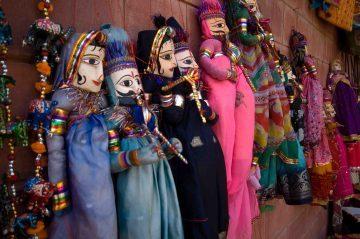 Muñecos de Rajastán