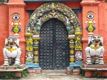 Puerta de Nepal