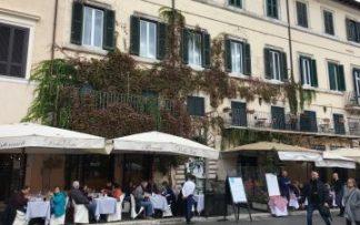 Restaurante en la Toscana