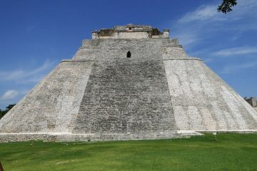 Pirámide maya mexicana