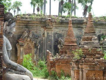 Ruinas de Birmania
