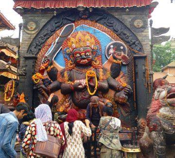 Monasterio budista nepalí