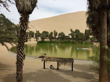 Oasis en Perú