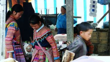 Mujeres jóvenes de Vietnam