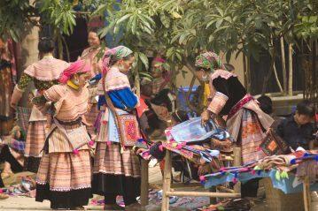 Mujeres tradicionales de Vietnam