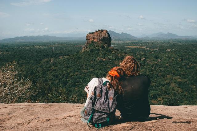 Pareja en Sri Lanka