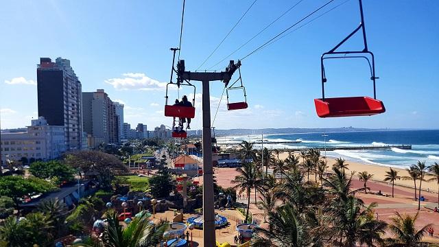 Vista de Durban Sudáfrica