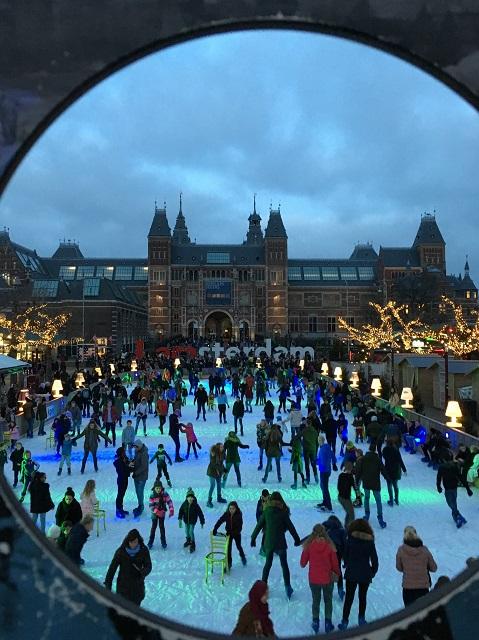 Navidades de 2018 en Ámsterdam