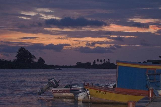Nordeste de Brasil al atardecer