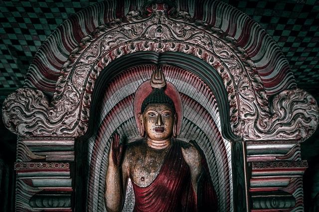 Dambulla, una parada en la ruta en Sri Lanka