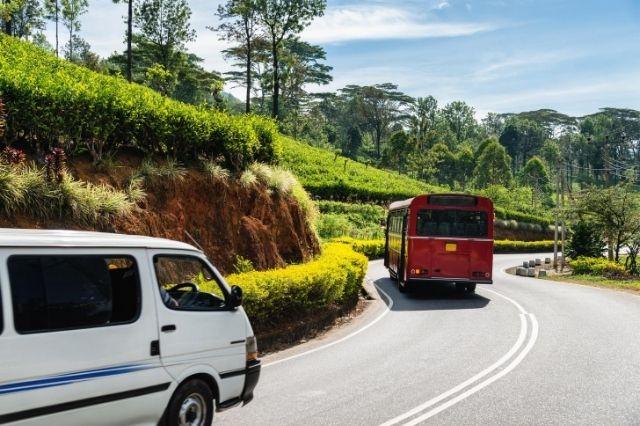 Tráfico en Sri Lanka