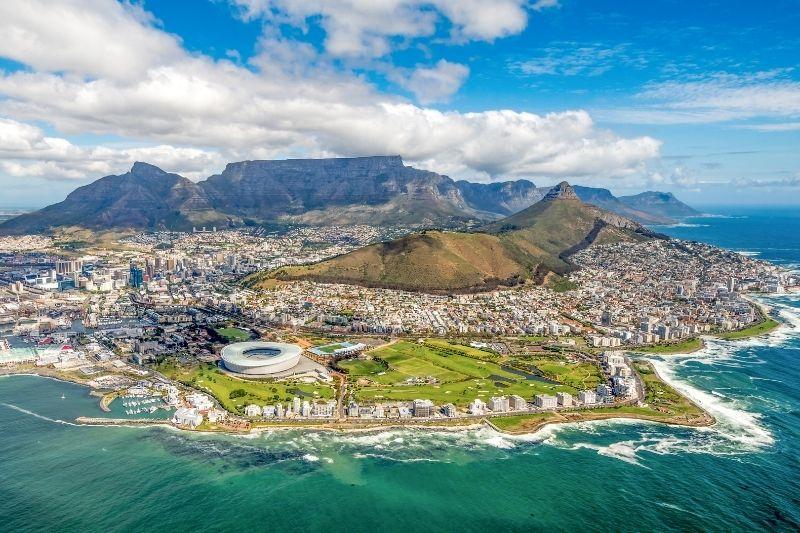 Vista de Ciudad del Cabo