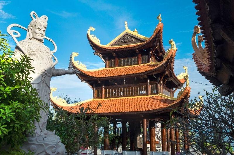 Templo en Pu Quoc