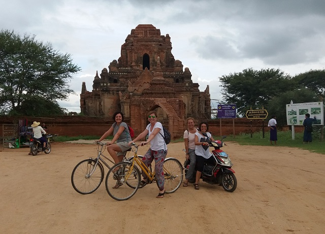 bicicletas en bagan