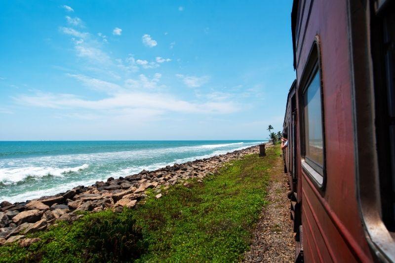 Sri Lanka en tren por el sur