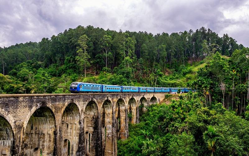 Sri Lanka en tren