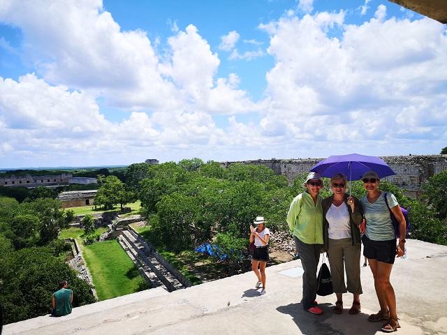 las chicas en riviera maya