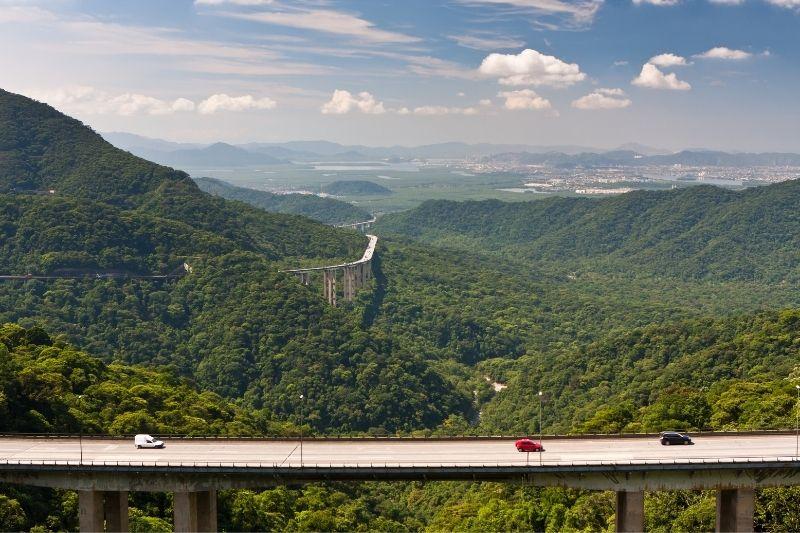 Carretera en Brasil