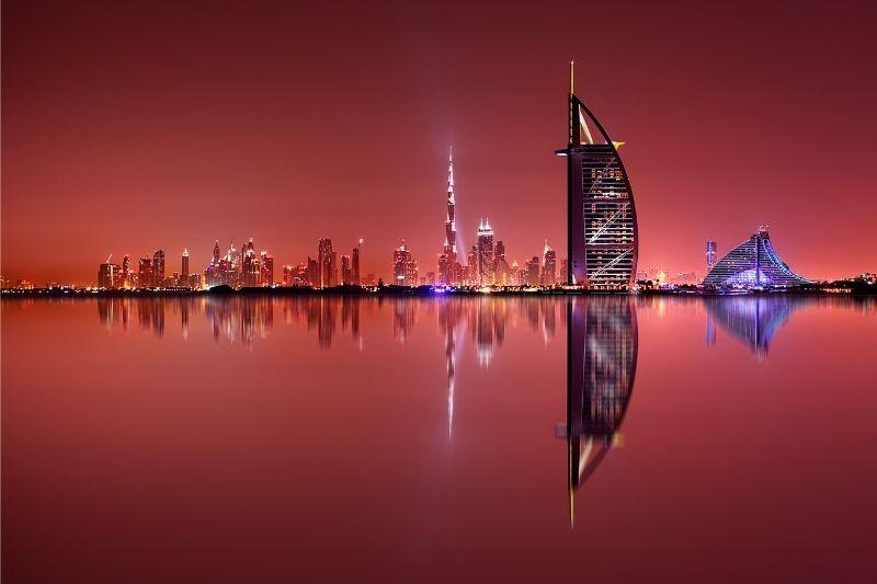 Dubai rojizo