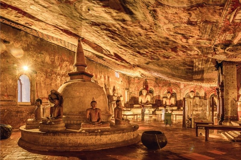 Cuevas de Sri Lanka